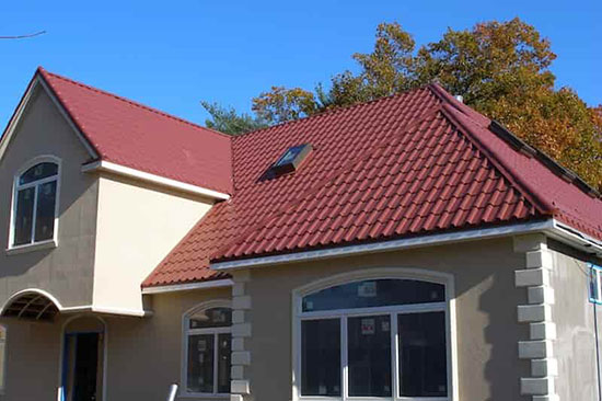 Completed Metal Roof Installation