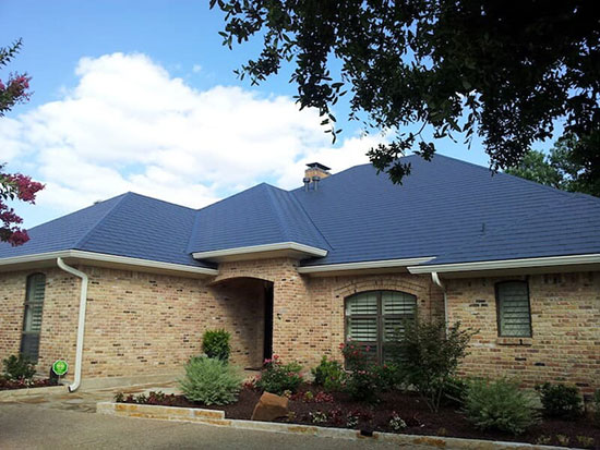 Metal Roof Of Texas Home