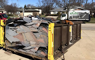 Roofing Materials Waste