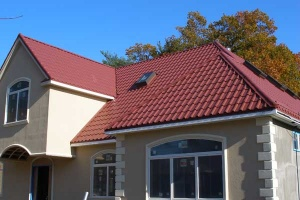 Red Metal Tile Roof